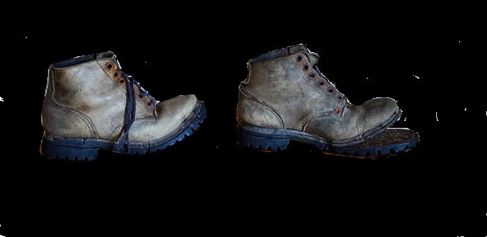 Rikkinäiset kengät
