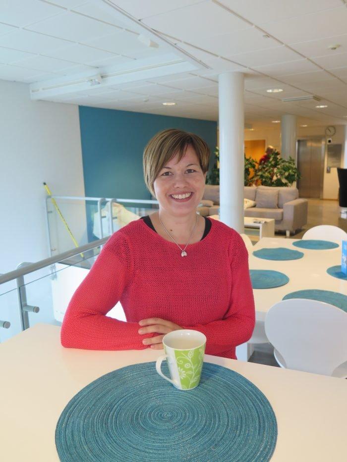 Vatesin kehittämiskoordinaattori Anne Korhonen.