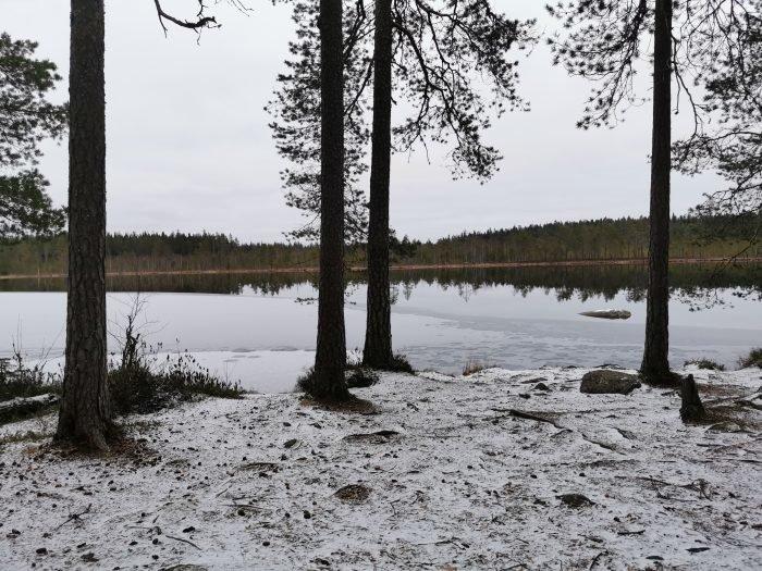 Marraskuinen järvi